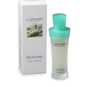Canaan Dead Sea Minerals Daily Silk Serum NIB new